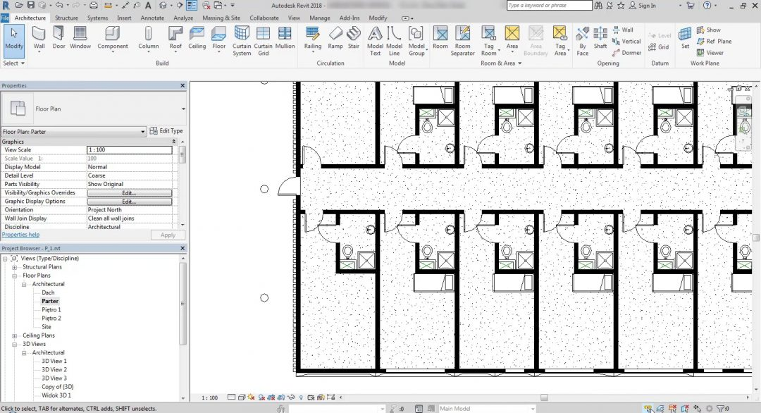 selection options in revit
